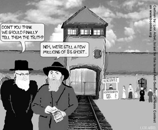 Karikaturenwettbewerb Lior Arbel